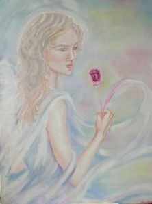 Angelic Spirit Guide by the Angelic Energy Art of Eileen Anglin