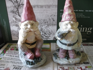unfinished gnomes Eileen Anglin