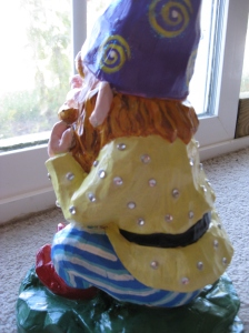 Repainted gnome Eileen Anglin