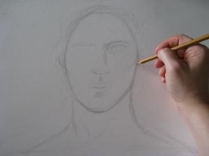 Sketching Archangel Gabriel