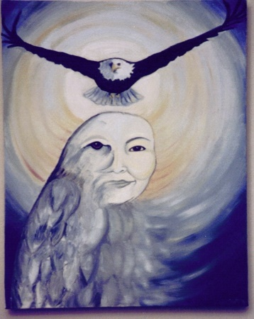 """Mother Take Flight"" Original Angelic Energy Art Eileen Anglin The Path of the White Rose LLC www.whiterosepath.com"