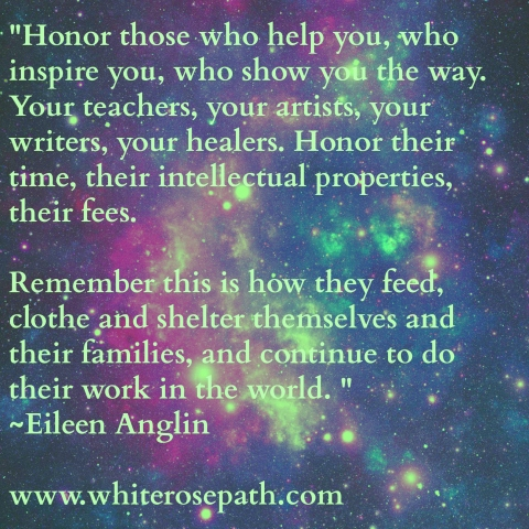 Honor the Exchange www.whiterosepath.com