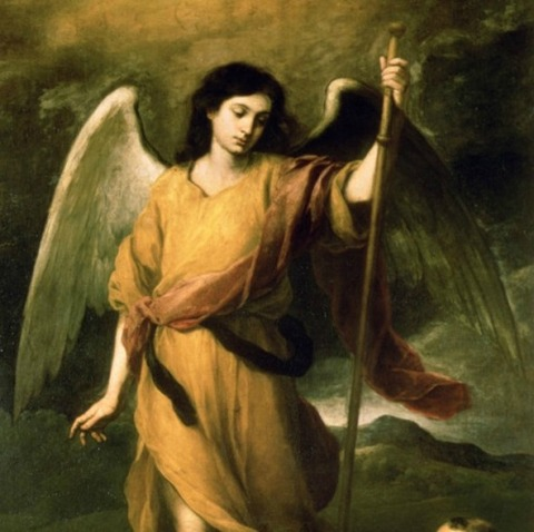 Archangel Raphael. The closest depiction of how he really looks that  I have ever seen in art.