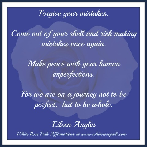White Rose Path Affirmations by Eileen Anglin www.whiterosepath.com
