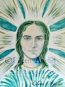 archangel Raphael of the Emerald Light Ray by Eileen Anglin