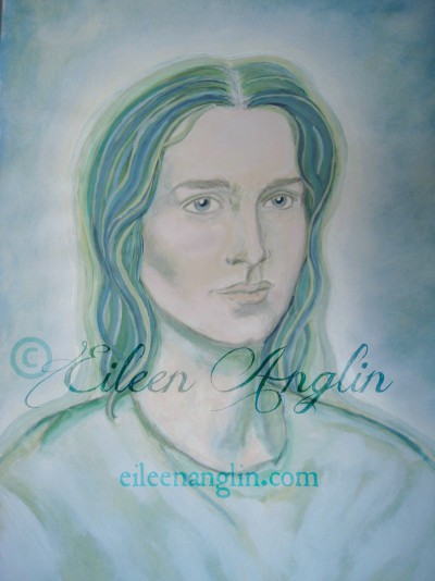 Archangel Raphael by Eileen Anglin click to purchase: http://etsy.me/1PhwVtO #raphael #angelart